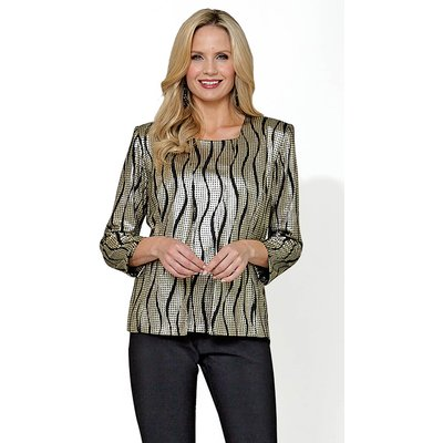 Julianna Abstract Print Twin Set