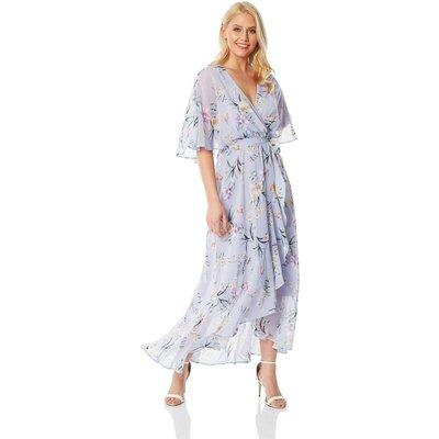 Chiffon Wrap Maxi Dress