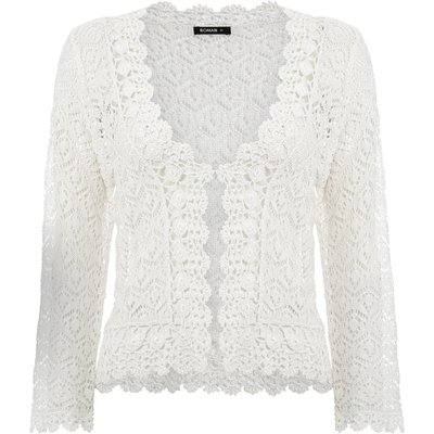 Crochet 3/4 Length Sleeve Shrug