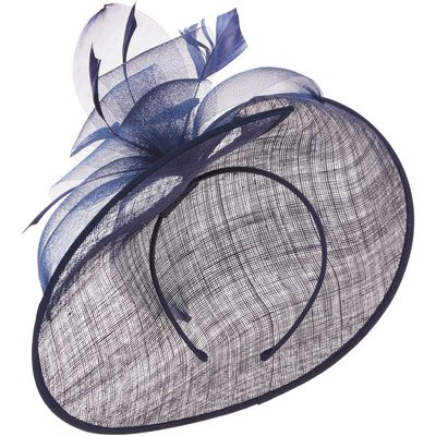 Feather Detail Disc Fascinator