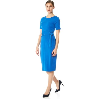 Side Tie Jersey Dress