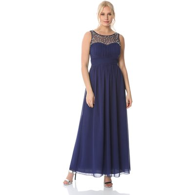 Bead Embellished Maxi Dress