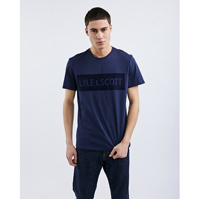 Lyle & Scott Flock Logo - T-Shirts