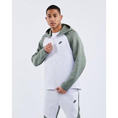 NIKE Hoodies & Sweatshirts   Nike Tech Fleece Colorblock Full Zip - Hoodies