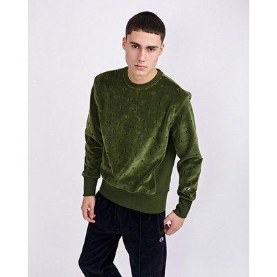 Champion Velour All Over Print - Sweatshirts