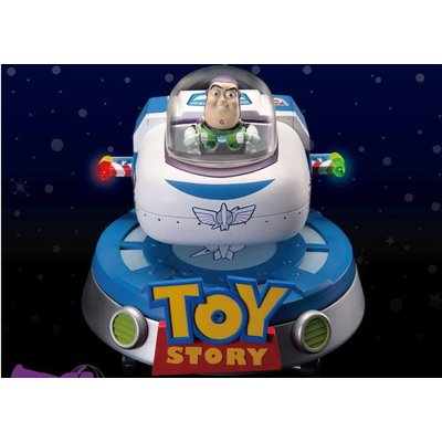 Beast Kingdom Toy Story Diorama Lumineux Egg Attack Buzz' Spaceship Floating 13cm