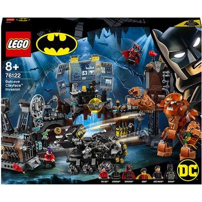 LEGO DC Batman Batcave Clayface Invasion Building Toys (76122)