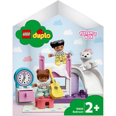 LEGO DUPLO Town: Bedroom Playable Dolls House Box (10926)