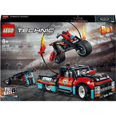 LEGO Technic: Stunt Show Truck & Bike Toys Set (42106)