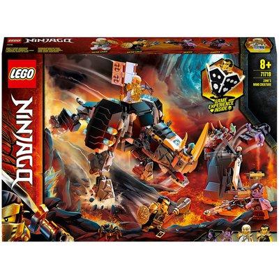LEGO NINJAGO: Zane's Mino Creature Board Game 2in1 Set (71719)
