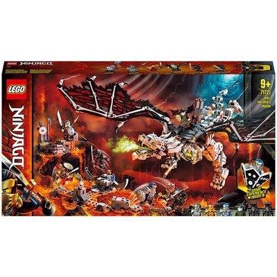 LEGO NINJAGO: Skull Sorcerer's Dragon Board Game Set (71721)