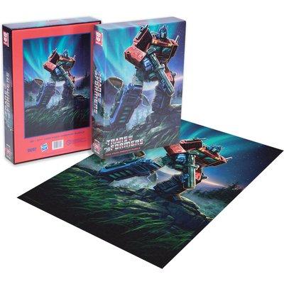 Dust! Transformers Optimus Prime 1000pc Puzzle - Zavvi Exclusive