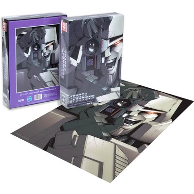 Dust! Transformers Megatron 1000pc Puzzle - Zavvi Exclusive