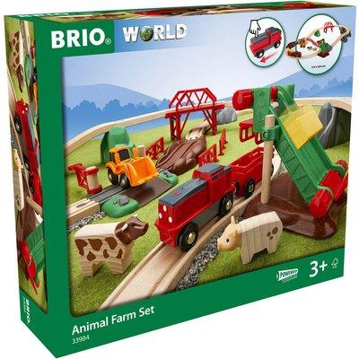 Brio World - Animal Farm Set