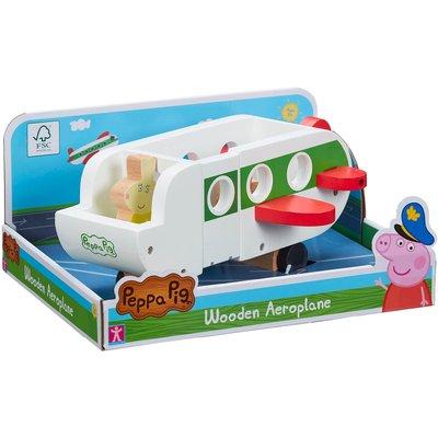 Peppa Pig - Wooden Aeroplane Toy