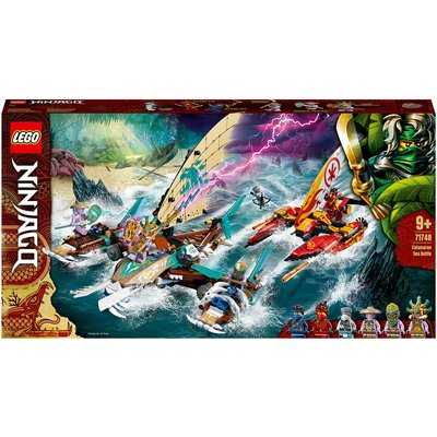 LEGO NINJAGO: Catamaran Sea Battle Building Set (71748)