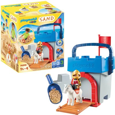 Playmobil SAND Knight's Castle Sand Bucket For 18+ Months (70340)