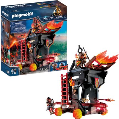 Playmobil Novelmore Knights Burnham Raiders Fire Ram (70393)