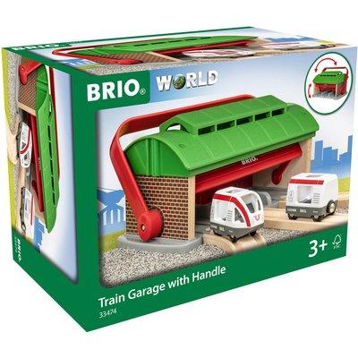 Brio Train Garage with Handle