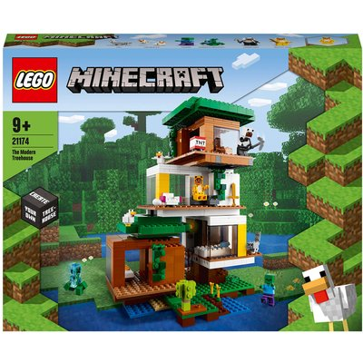 LEGO Minecraft The Modern Treehouse Construction Toy (21174)