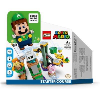 LEGO Super Mario Luigi Adventures Starter Course Toy Game (71387)