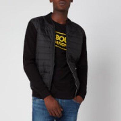 Barbour International Men's Baffle Zip Through Jacket - Black - XL - Black