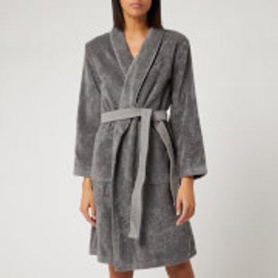 KENZO Iconic Bathrobe - Grey - Medium