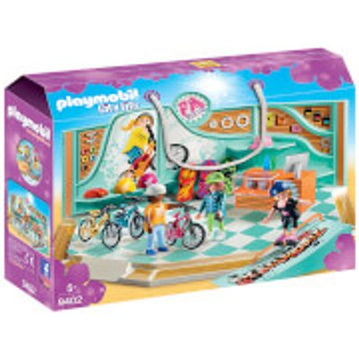 Playmobil City Life Bike and Skate Shop with Ramp (9402)