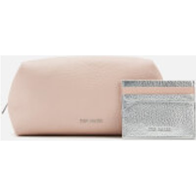 Ted Baker Women's Zori Leather Washbag Gift Set - Pale Pink