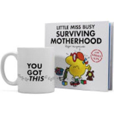 Little Miss Busy Book and Mug Gift Set - Motherhood