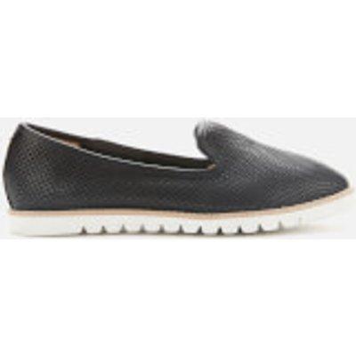 Dune Women's Galleon Leather Comfort Loafers - Black - UK 8