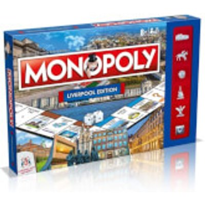 Monopoly Board Game - Liverpool Edition