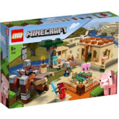 LEGO Minecraft: The Illager Raid Building Set (21160)