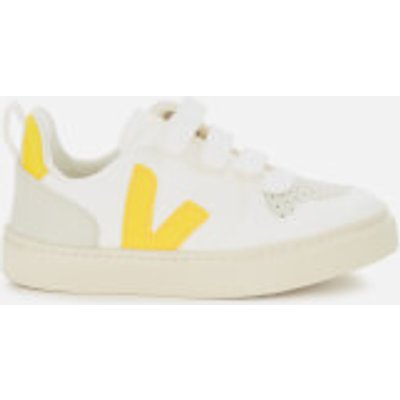 Veja Toddler's V10 Velcro Leather Trainers - White Tonic - UK 9.5 Toddler