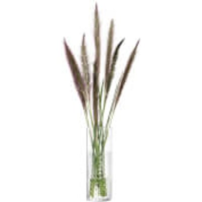 LSA Wicker Vase - Clear 20cm