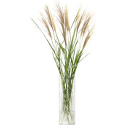 LSA Wicker Vase - Clear 40cm