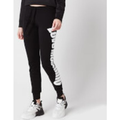 Love Moschino Women s Logo Sweatpants   Black   IT 42 UK10 - 8054807439084