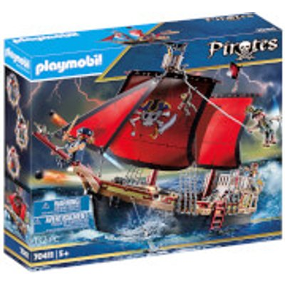 Playmobil Pirates Skull Pirate Ship (70411)