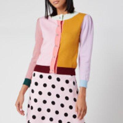 Olivia Rubin Women's Dee Cardigan - Colourblock - L