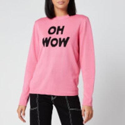 Bella Freud Women's Oh Wow Jumper - Pink - XS
