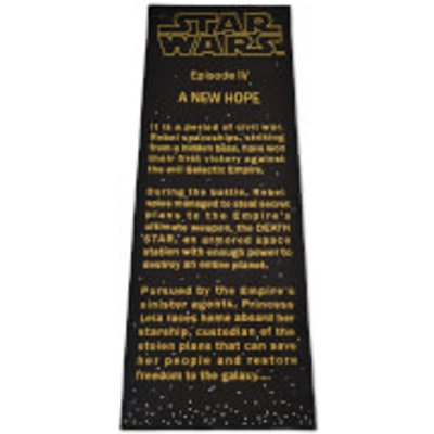 Exclusive Star Wars Title Crawler Rug