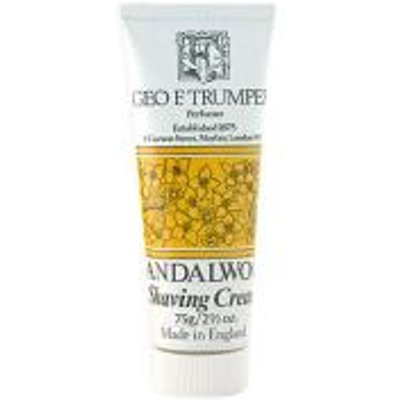 Trumpers Shave Cream   Sandalwood 75gm Tube - 5038607095476
