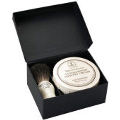 Taylor of Old Bond Street Pure Badger and Sandalwood Shaving Cream Set - 5035637002061