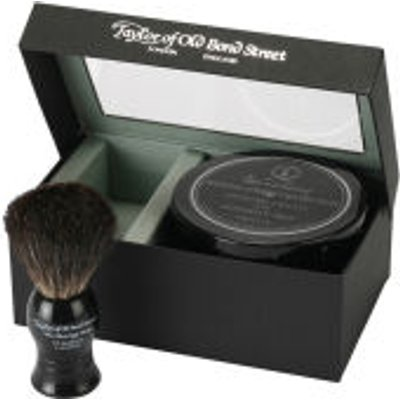 Taylor of Old Bond Street Jermyn Street Pure Badger Brush and Shaving Cream Bowl Set - 5035637002085