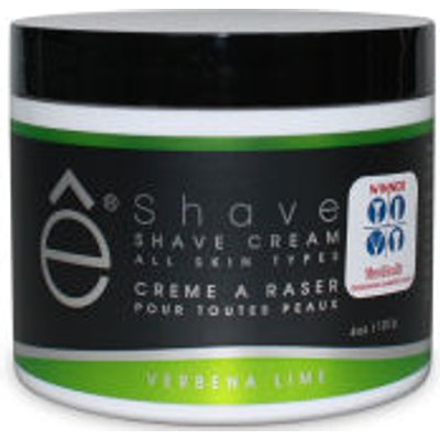 e Shave Verbena Lime Shave Cream 118ml - 613443140075