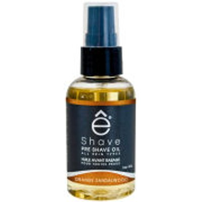 eShave Orange Sandalwood Pre Shave Oil 59ml - 613443320040