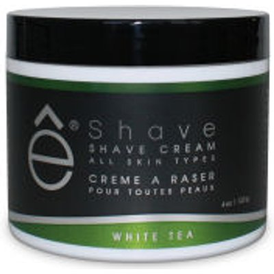 e Shave White Tea Shave Cream 118ml - 613443140099