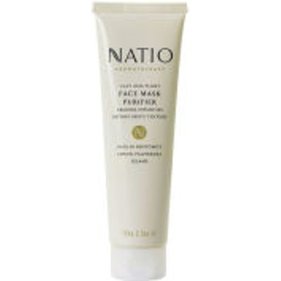 Natio Clay   Plant Face Mask Purifier  100g  - 9316542111441