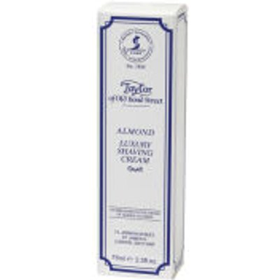 Taylor of Old Bond Street Shaving Cream Tube  75g    Almond - 696770010266