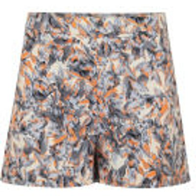 Madam Rage Women's Multi Print Shorts - Multi - 8 - Multi